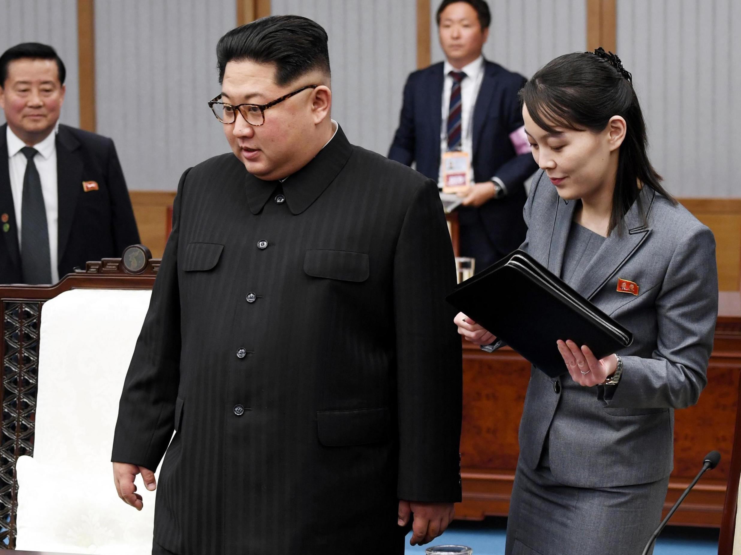 Kim Jong UN wanted to relieve stress and delegated authority to his younger sister
